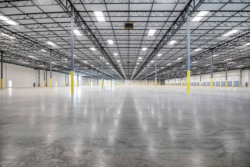 warehouse intereior for Rialto marketing suite