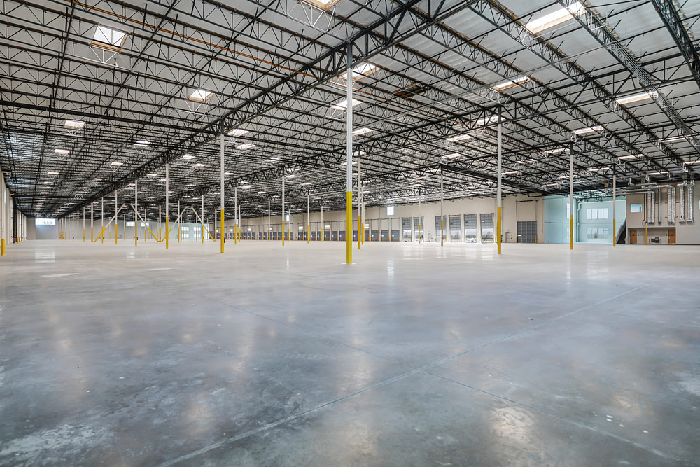 marketing suite ground photography warehouse industrial real estate